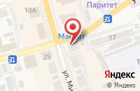 Схема проезда до компании МТС в Киреевске