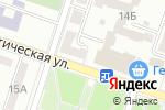 Схема проезда до компании Водомир в Донецке