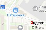 Схема проезда до компании Секонд-хенд в Лесном