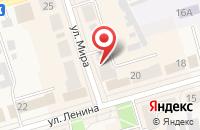 Схема проезда до компании Чешский старовар в Киреевске
