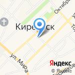 Красное & Белое на карте Киреевска