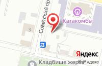 Схема проезда до компании Ассоциация Женщин-Предпринимателей России в Череповце