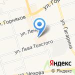 Сеть киосков фастфудной продукции на карте Киреевска
