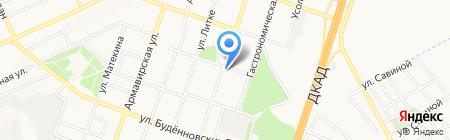 Фея на карте Донецка