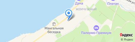 Искра на карте Геленджика