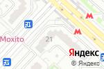 Схема проезда до компании А-Фина Консалт в Москве