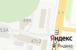 Схема проезда до компании Битстоп в Череповце