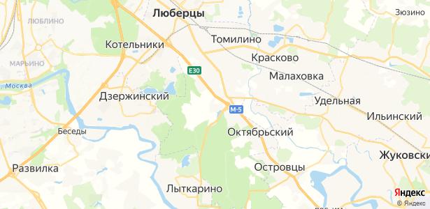 Чкалово на карте