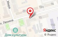 Схема проезда до компании Дикси в Киреевске