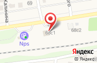 Схема проезда до компании АМЗ в Загорянском