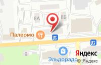 Схема проезда до компании Euro-oboi в Ивантеевке