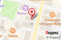 Схема проезда до компании Сокол в Череповце