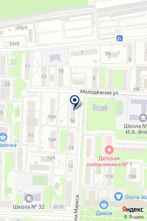 ЖКХ КВАНТ-7 на карте Балашихи