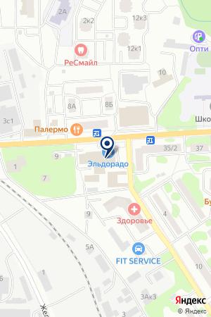 ПАРИКМАХЕРСКАЯ ЧЕРНОУСЕНКО Т.А. на карте Ивантеевки