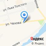Радуга на карте Киреевска