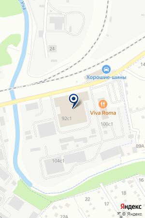 АВАРИЙНО-ДИСПЕТЧЕРСКАЯ ИВАНТЕЕВСКАЯ ТЕПЛОСЕТЬ на карте Ивантеевки