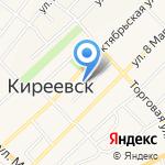 Киреевский центр образования №3 на карте Киреевска