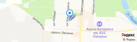 Уют на карте Балашихи
