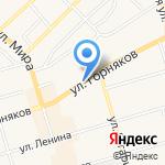 Киоск фастфудной продукции на карте Киреевска