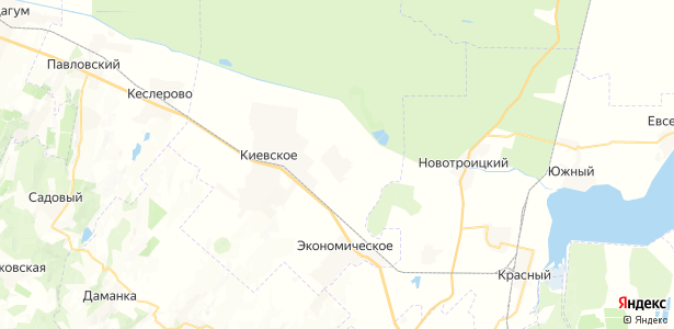 Плавненский на карте