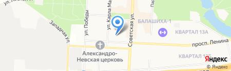 MsHelp на карте Балашихи