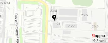 Евродизель центр на карте Москвы