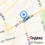 Сладкоежка на карте Киреевска