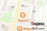 Схема проезда до компании Воскресенская в Череповце