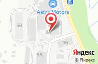 Схема проезда до компании Ноэкс в Ивантеевке