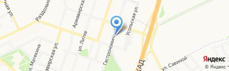 Школа искусств №9 на карте Донецка