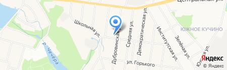 Салтыковская Церковь Евангельских Христиан-Баптистов на карте Балашихи