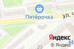 Схема проезда до компании Аист в Киреевске