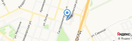 Донецкая общеобразовательная школа I-III ступеней №140 на карте Донецка