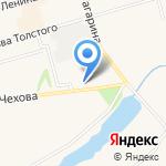 Киоск по ремонту обуви на карте Киреевска