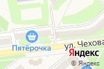 Схема проезда до компании Феникс в Киреевске