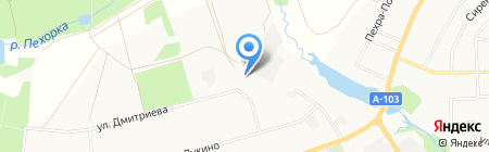 60 WAT на карте Балашихи