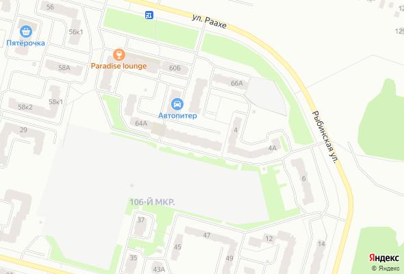 купить квартиру в ЖК Раахе, 64