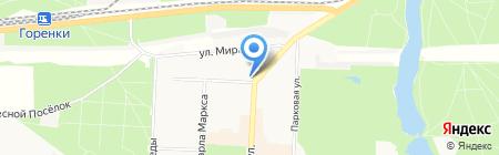 Березка Люкс на карте Балашихи