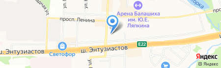 Ком Сервис на карте Балашихи
