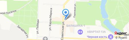 Sushi-CitY на карте Балашихи