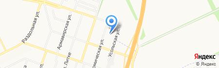 Детский сад №155 на карте Донецка