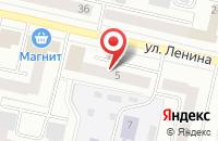 Схема проезда до компании Ксения в Череповце