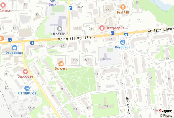продажа квартир Хлебозаводская улица 43а