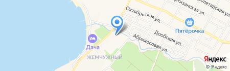Городская больница №2 на карте Геленджика