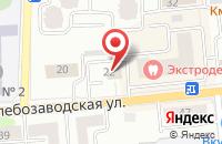 Схема проезда до компании Экспром-Л в Ивантеевке