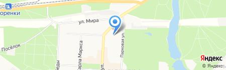 Детский сад №1 Светлячок на карте Балашихи