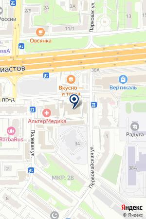 ГРУППА КОМПАНИЙ СТАТУС на карте Балашихи