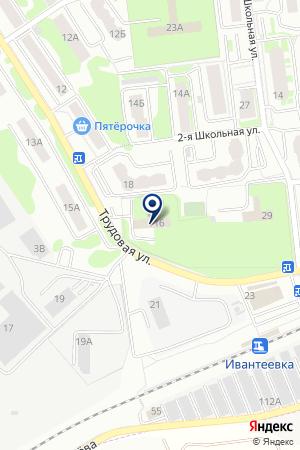 ИВАНТЕЕВСКИЙ ОТДЕЛ ВНУТРЕННИХ ДЕЛ (ОВД) на карте Ивантеевки