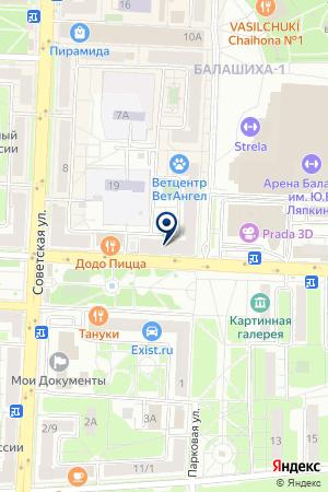 Художественный салон Марины Левиной на карте Балашихи