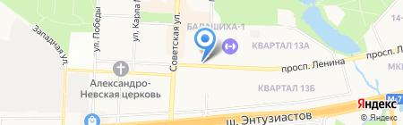 Комиссионный магазин на карте Балашихи